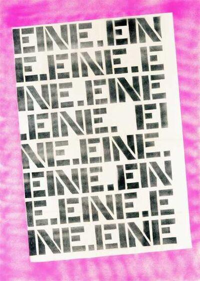 Ben Eine, 'untitled', 2004