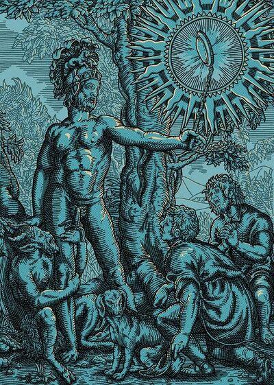 Daniel Hosego, 'Dick Pic - Blue', 2019
