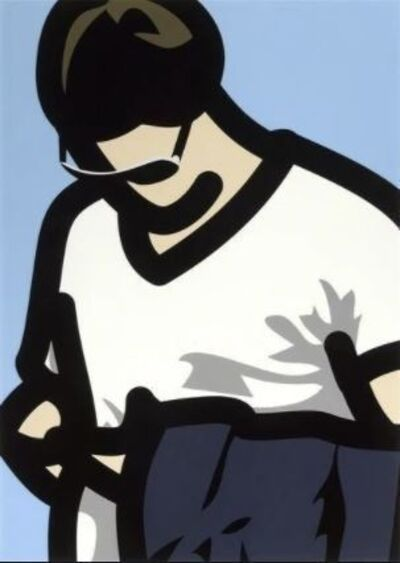 Julian Opie, 'Tourist With Phone', 2014