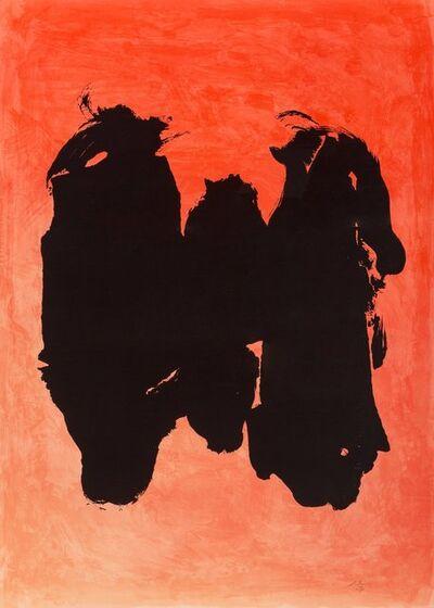 Robert Motherwell, 'Three Figures', 1989