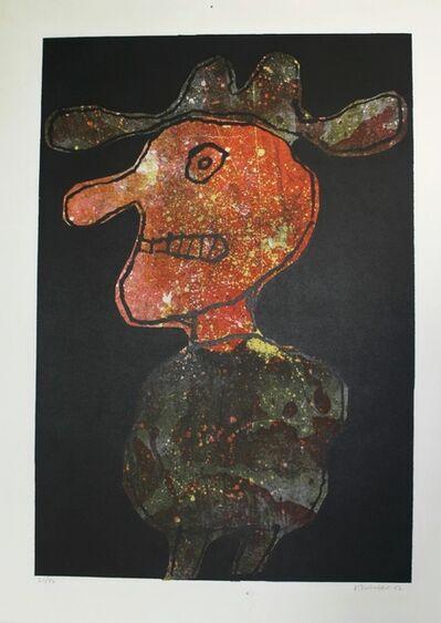 Jean Dubuffet, 'Homme au Chapeau', 1962