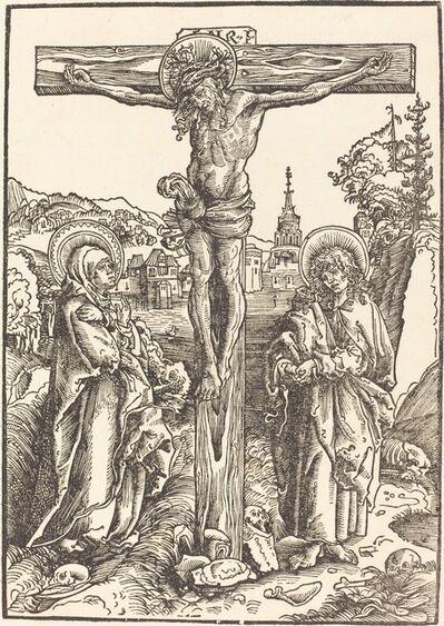 Lucas Cranach the Elder, 'Christ on the Cross Between the Virgin and Saint John', ca. 1502