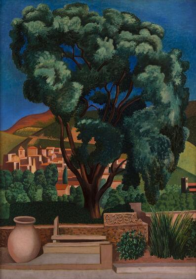 Auguste Herbin, 'Chêne-Liège à Vaison-la-Romaine', 1924