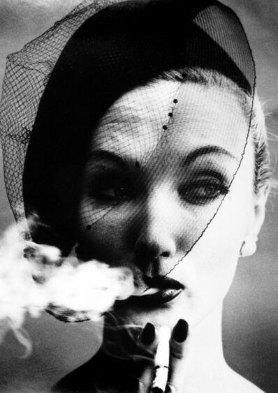 William Klein, 'Smoke + Veil', 1958