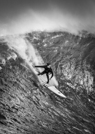 Dina Litovsky, 'Untitled (Paige Alms surfing at Maverick's)', 2018
