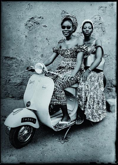 Seydou Keïta, 'Women on a motorcycle', 1953