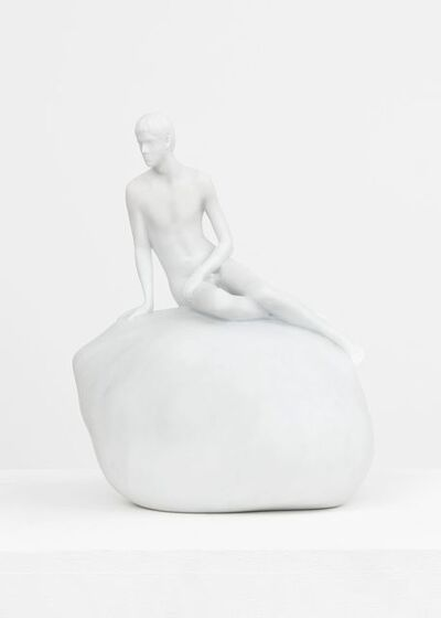 Elmgreen & Dragset, 'He (Marble Maquette)', 2016
