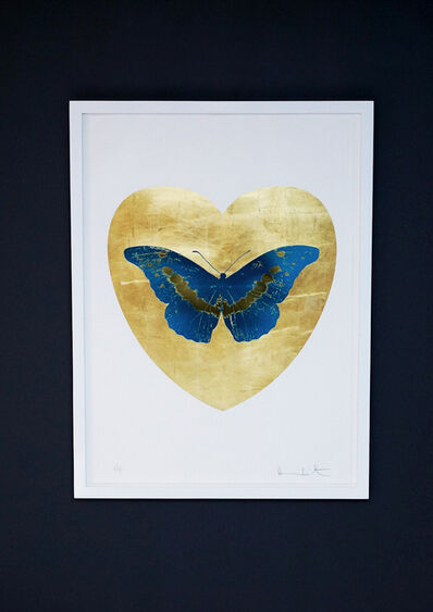 Damien Hirst, 'Butterfly, Blue/Gold', 2015