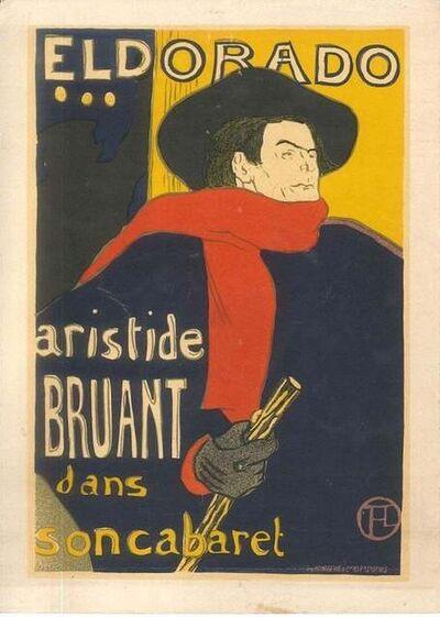 Henri de Toulouse-Lautrec, 'Eldorado (After H. de Toulouse-Lautrec)', 1951