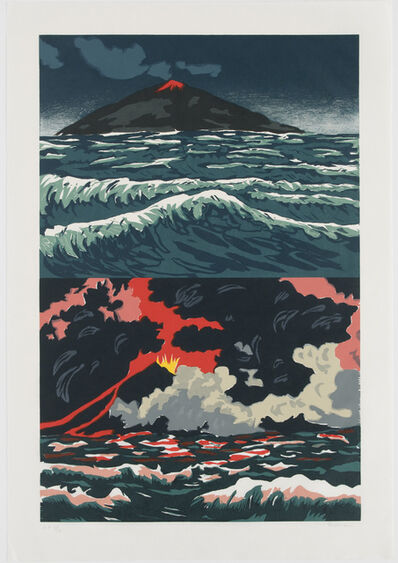 Richard Bosman, 'Volcano', 1989