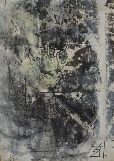 Kokuta Suda 須田 剋太, 'Abstract', Post-war