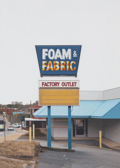 Mike Bayne, 'Foam and Fabric', 2017