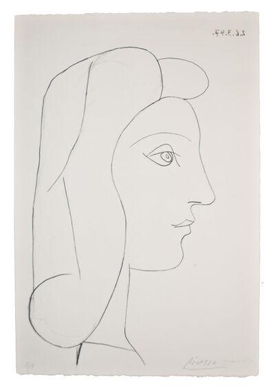 Pablo Picasso, 'Profil de Femme', 1947 (March 26)