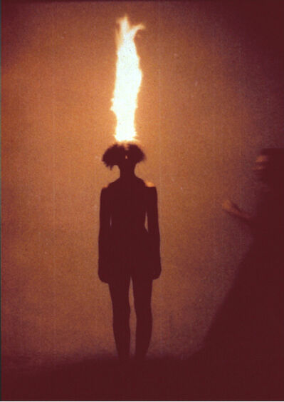 Jana Sterbak, 'Artist as combustible', 1986