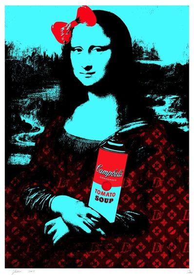 Death NYC, 'Mona Soup Blue ', 2015