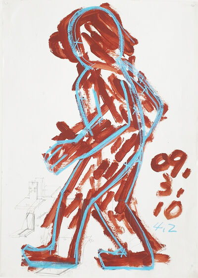 Suh Yongsun, 'People in Mago 5, Walking', 2009
