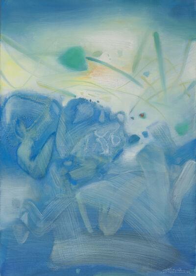 Chu Teh-Chun, 'Atmosphère bleue III', 1988