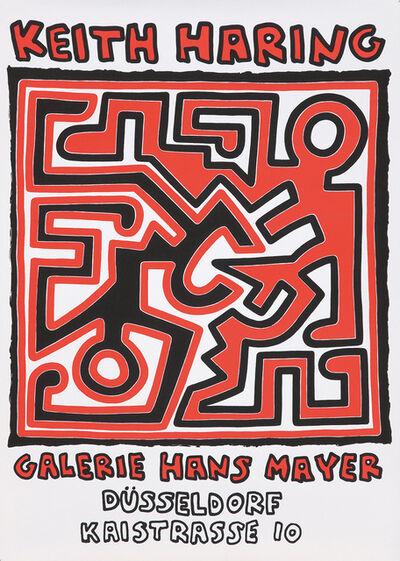 Keith Haring, 'Keith Haring Galerie Hans Mayer Düsseldorf 1988 ', 1988