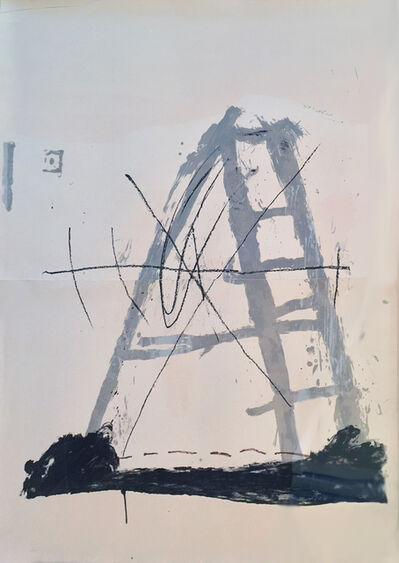 Antoni Tàpies, 'L'echelle', 1968