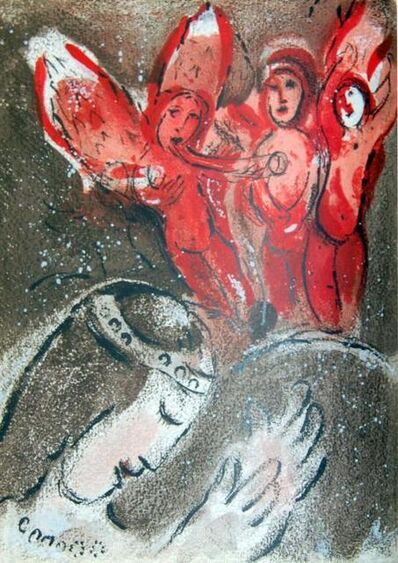 Marc Chagall, 'Sara Et Les Anges (Sara And The Angels)', 1960