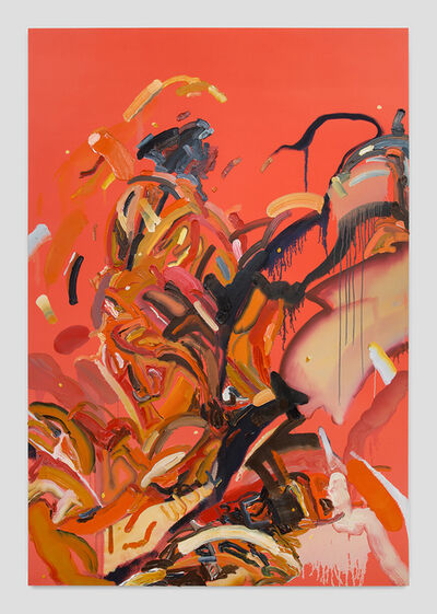 Andy Woll, 'Mt. Wilson (Fiery Brown IV)', 2019