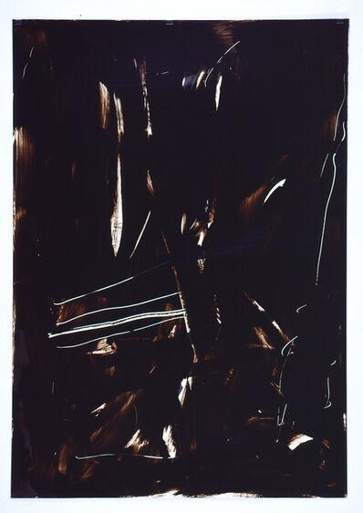 Imi Knoebel, 'Ohne Titel, Folienzeichnung Nr. 133', 1990