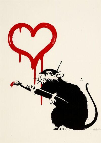 Banksy, 'Love Rat', 2004