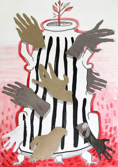 Chris Denovan, ' Hand Urn', 2020