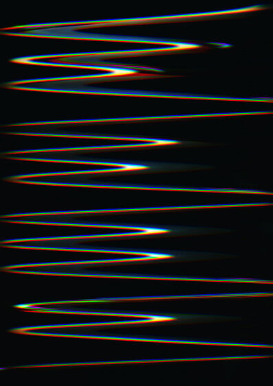 Carsten Nicolai, 'Chroma wellenform (Scan 35)', 2015