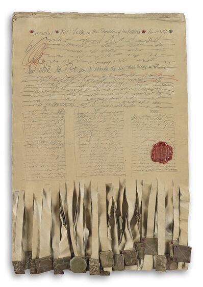 Barbara Chase-Riboud, 'Untitled', 1991