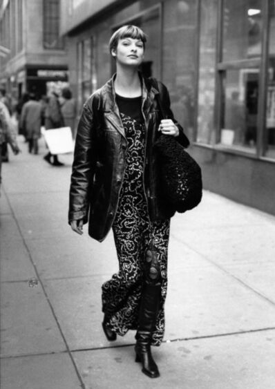 Bill Cunningham, 'Linda Evangelista', ca. 1980s