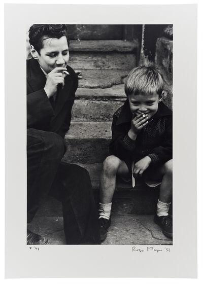 Roger Mayne, 'Boys Smoking, Southam Street', 1956