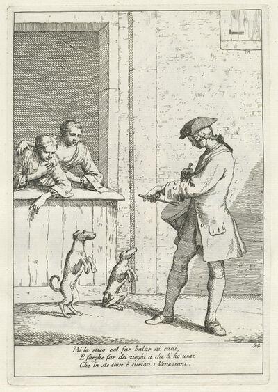Gaetano Zompini, 'Marcer (Draper)', published 1753