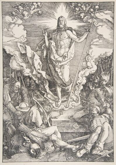 Albrecht Dürer, 'The Resurrection, from The Large Passion', 1471-1528