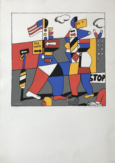 "José Gurvich, '""Composición New York, 1972""'"