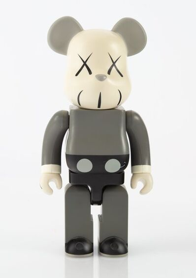 KAWS X BE@RBRICK, 'Companion 400% (Grey)', 2002