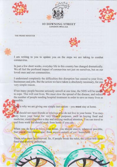 Itziar Bilbao Urrutia, 'Viral Letter To Nation', 2020