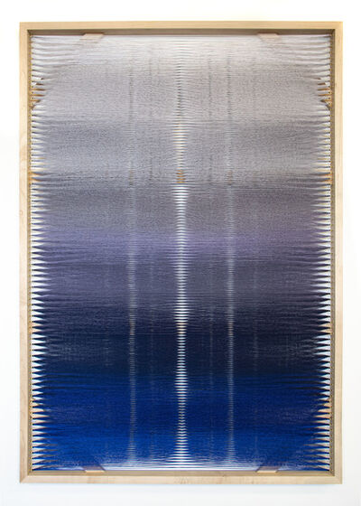 Rachel Mica Weiss, 'Woven Screen (Night Gradient)', 2019