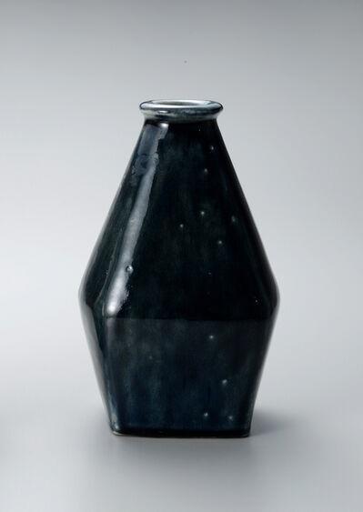 Shinsaku Hamada, 'Vase, salt glaze', ca. 2015