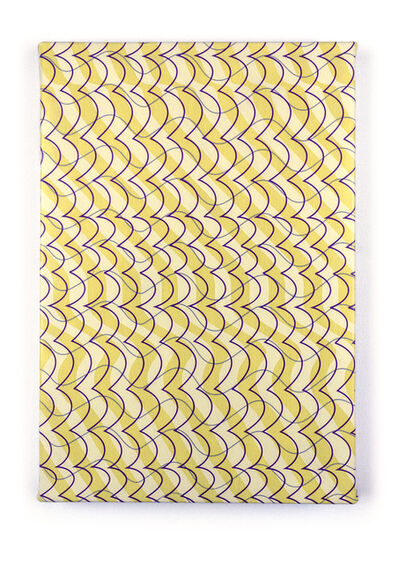 "Timothy Harding, '19"" x 13"" Yellow on Yellow', 2018"