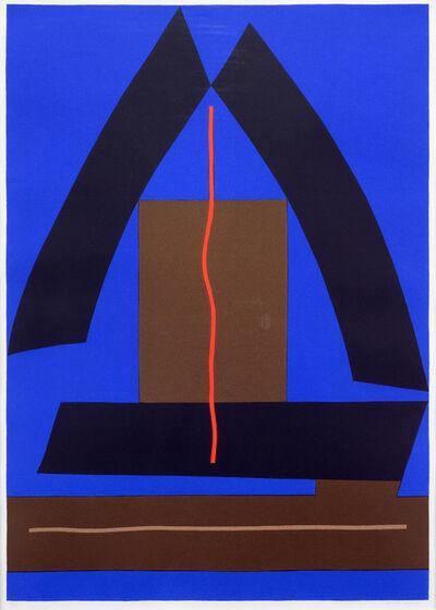 Clinton Adams, 'Triad IV', 1980