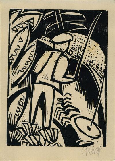 Karl Schmidt-Rottluff, 'Der Angler ', 1922