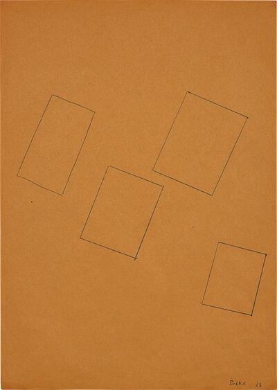 Sigmar Polke, 'Ohne Titel (Rechteck)', 1963