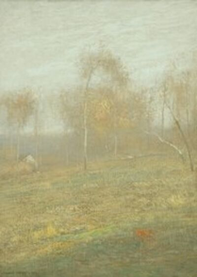 J. Francis Murphy, 'October Mist', 1906