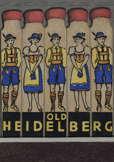 Aaron Kasmin, 'Old Heidelberg', 2018