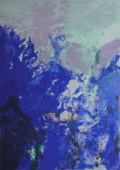 Zao Wou-Ki 趙無極, 'Olympic Centennial', 1992