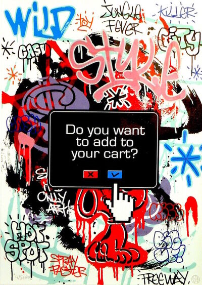 Speedy Graphito, 'Do You Want To Add To Your Cart?', 2012