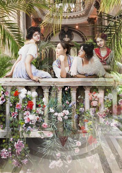 Bae Joon Sung, 'The Costume of Painter - 3 women on the balcony', 2017