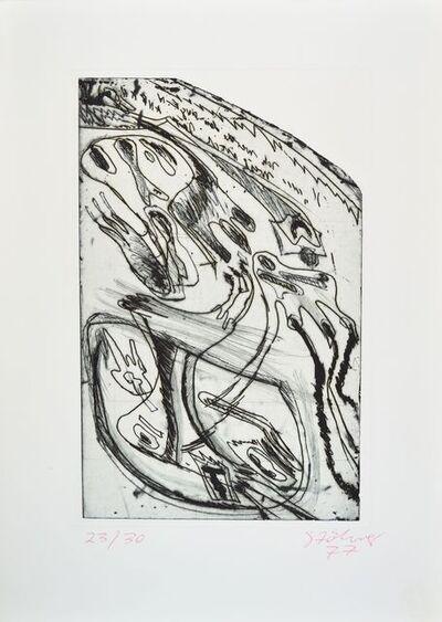 Walter Stöhrer, 'Die Bewegung der Zähne', 1970-1980