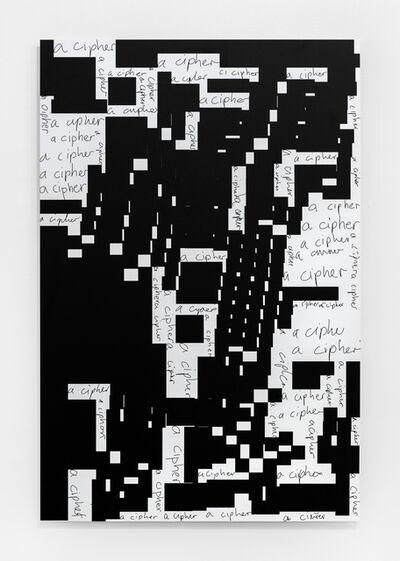 Damon Zucconi, 'A Cipher', 2017
